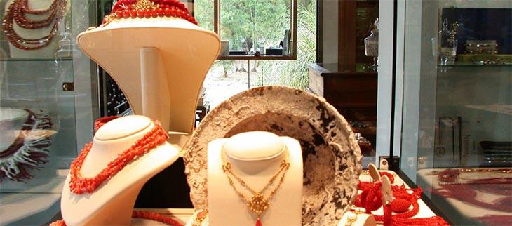 la taillerie du corail image vitrine boutique