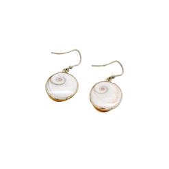 Boucles d'oreilles Oeil de Sainte Lucie