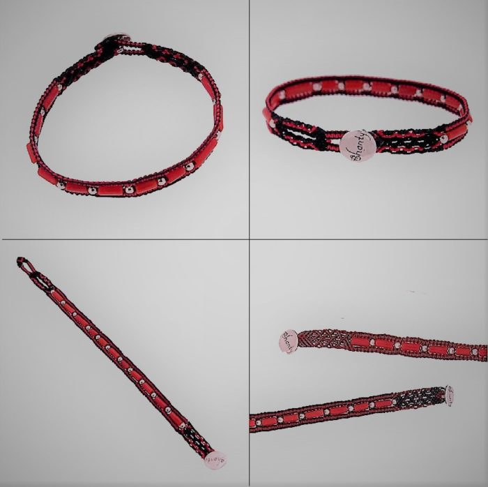Collection Bali : colliers et bracelets en corail rouge et argent