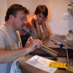 Travail atelier la taillerie du corail marc robbez masson