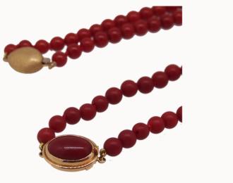 perles corail rouge méditerranée