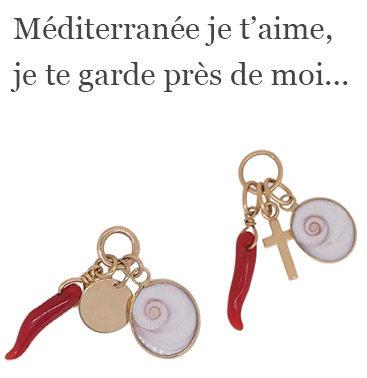 Triptique mediterranée je t'aime...